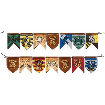 Faixa Decorativa Frente e Verso Harry Potter