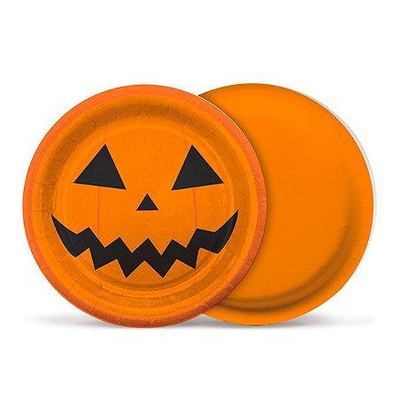 Prato Abóbora Halloween