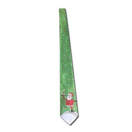 Gravata Verde Papai Noel