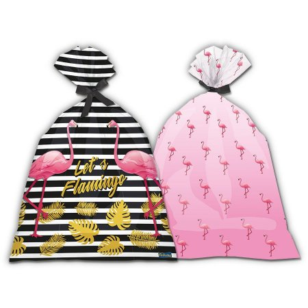 Sacola Surpresa Let's Flamingo C/8