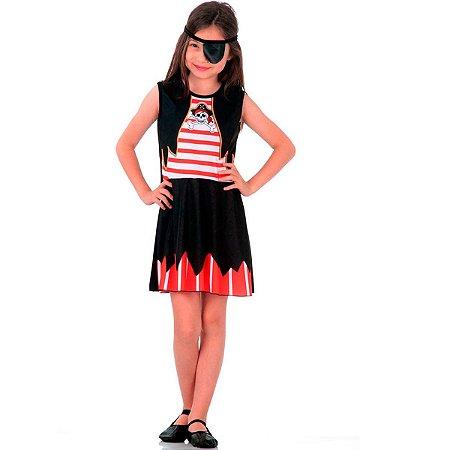 Fantasia Piratinha Infantil Super Pop | Sulamericana