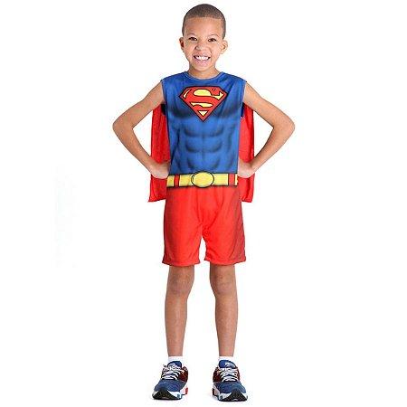 Fantasia Super Homem Infantil Regata | Sulamericana