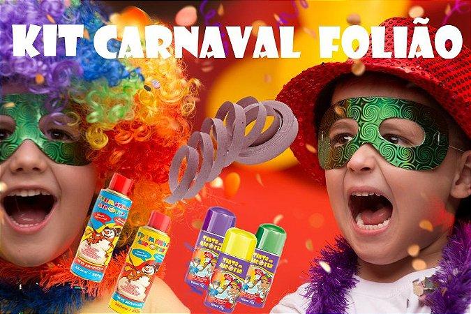 Kit Carnaval Folião C/5 Itens