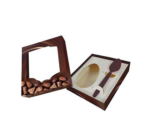 Caixa para Ovo de Colher Gourmet Premium | 350g