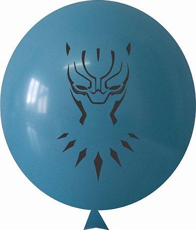 Balão / Bexiga N11 Black Panther Sortido | C/25