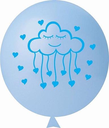 Balão / Bexiga N11 Chuva de Amor Sortido | C/25