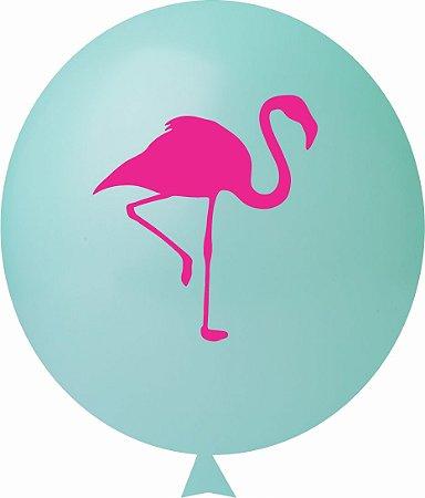 Balão / Bexiga N11 Flamingo Sortido  C/25