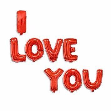 Balão Metalizado I Love You