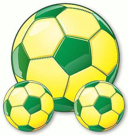 Kit Decorativo Bola C/3 | Copa do Mundo
