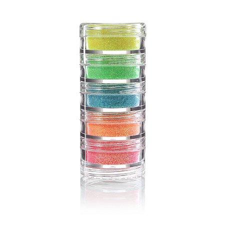 Glitter em Pó Iridescente C/5 | Color Make