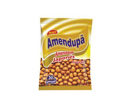 Amendoim Japonês Crocante Salgado 500g | Amendupã
