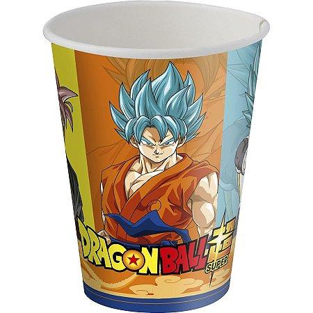 Copo de Papel Dragon Ball 200ml C/8