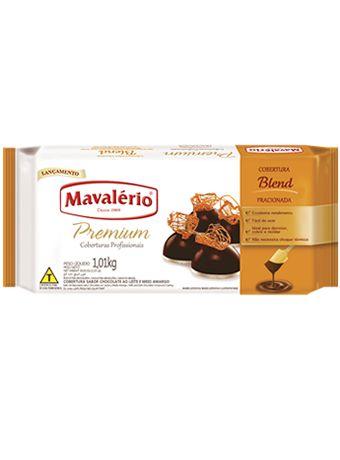 Barra Chocolate Fracionada Blend 1,01kg   Mavalério