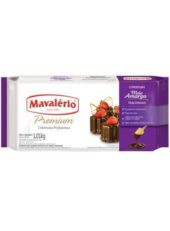 Barra Chocolate Fracionada Meio Amarga 1,01kg | Mavalério