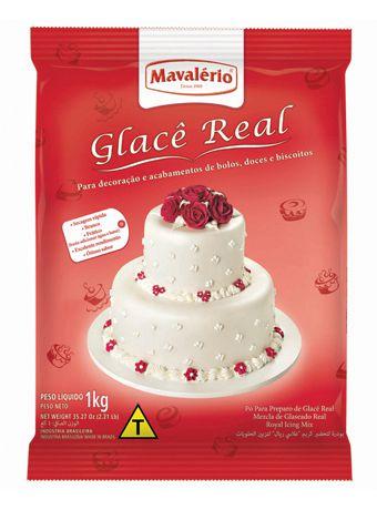 Pó Para Preparo de Glacê Real 1kg | Mavalério