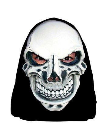 Máscara C/ Capuz Caveira Maquiavélica