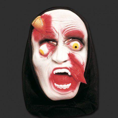 Máscara Estaca Encravada na Testa | Com Capuz