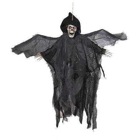 Fantasma Halloween Com Movimento e Som