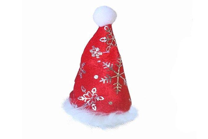 Enfeite Gorro Papai Noel C/ Presilha