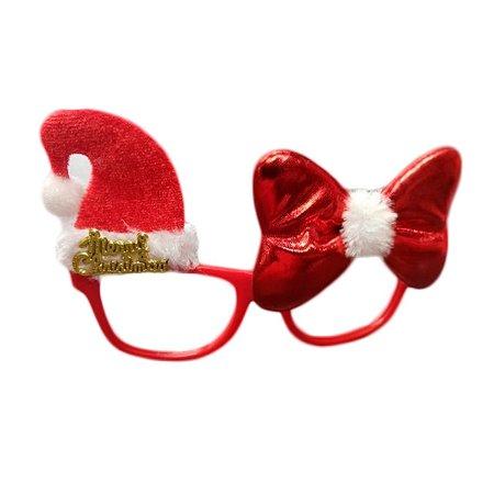 Óculos Decorado Natal