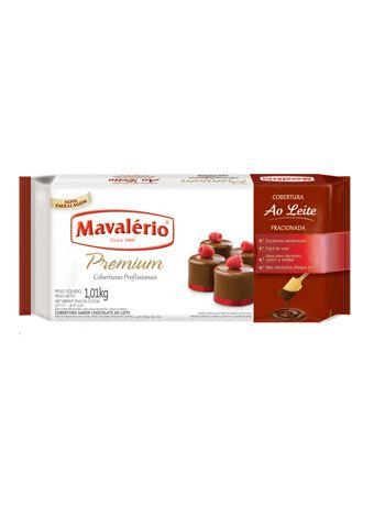 Barra Chocolate Fracionada Ao Leite 1,01kg | Kit com 2