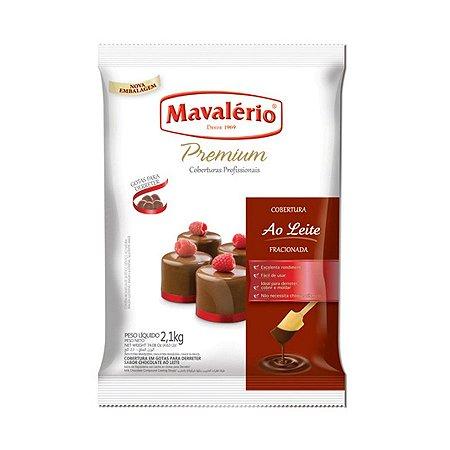 Gotas De Chocolate Ao Leite Cobertura Fracionada 1kg   Kit C/2