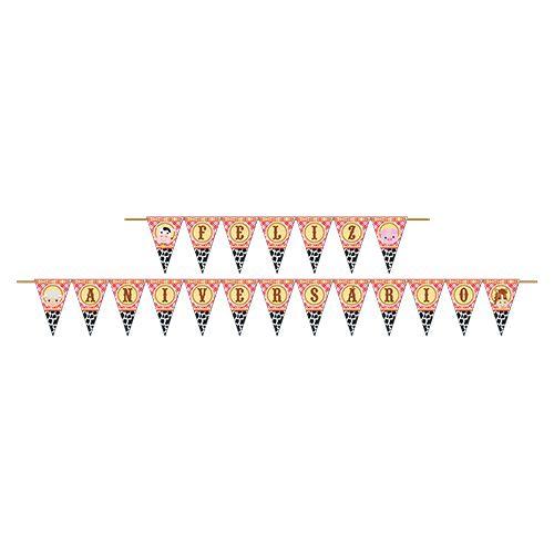 Faixa Feliz Aniversário Fazendinha | Junco