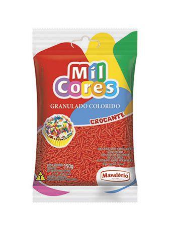 Granulado Crocante 150Gr Vermelho | Mavalério