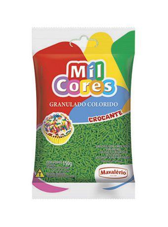 Granulado Crocante 150Gr Verde | Mavalério