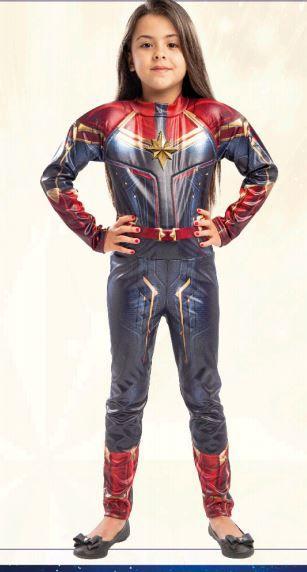Fantasia Capitã Marvel Infantil   Regina