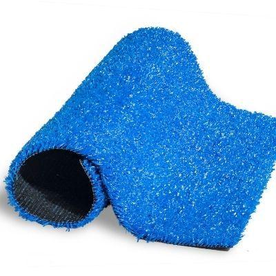 Grama Sintética 12mm Azul - 80 Metros Quadrados