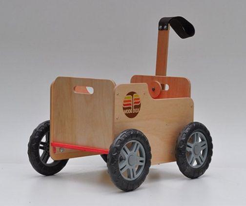 WoodBox - Carrinho de Madeira