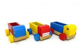 Conjunto de Mini Caminhões e Carrinhos