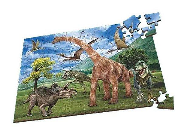Quebra-Cabeça Dinossauros