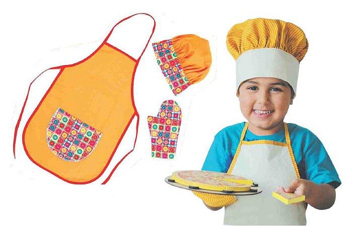 Coleção Comidinhas - Kit Cozinheiro