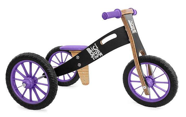 Triciclo 2 em 1 - Lousa Roxa