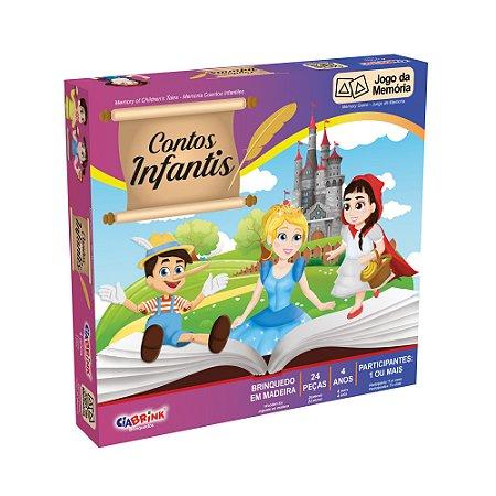 Jogo da Memória Contos Infantis - 24 peças