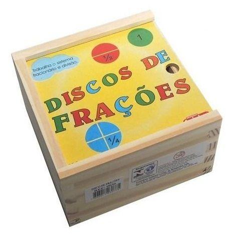 Discos de Frações com 55 peças