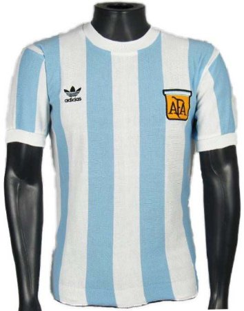 Camisa Retrô Argentina