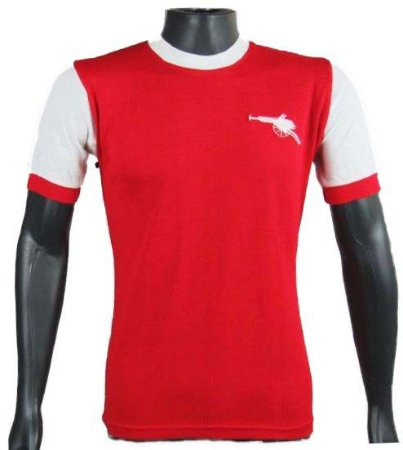 Camisa Retrô Arsenal anos 70