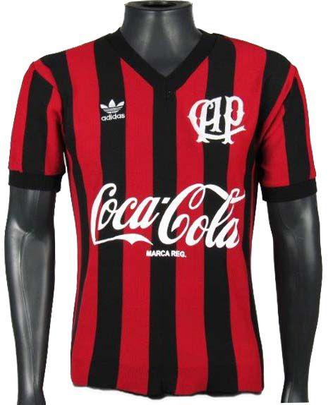 Camisa Retrô Atlético Paranaense 1989