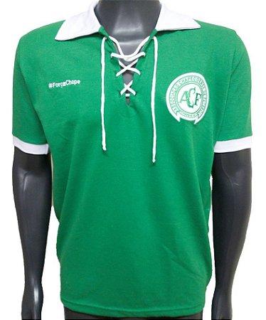 Camisa Chapecoense Verde c/ Cordinha #forçachape