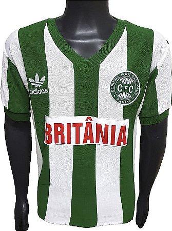 Camisa Retrô Coritiba 1985 Britânia
