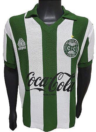 Camisa Retrô Coritiba Coca Cola 1989
