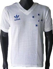 Camisa Retrô Cruzeiro 1987 Branca