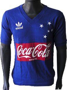 Camisa Retrô Cruzeiro 1987 Coca Cola