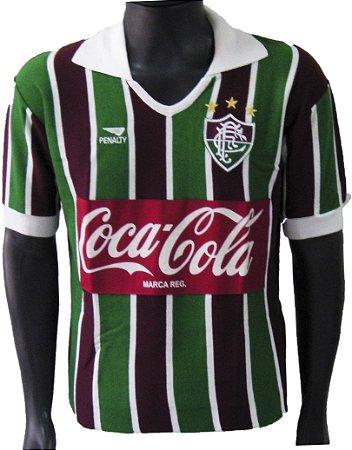 Camisa Retrô Fluminense Coca Cola 1989