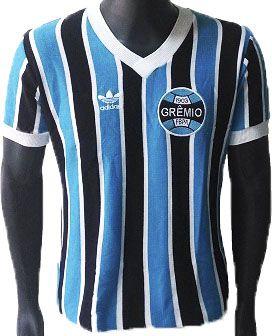 Camisa Retrô Grêmio Tricolor Mundial 1983
