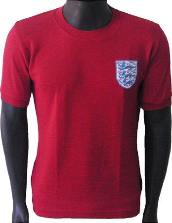 Camisa Retrô Seleção Inglesa Inglaterra 1966