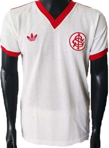 Camisa Retrô Internacional Branca 1978